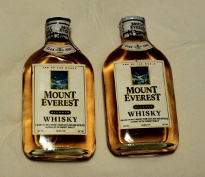 Mount everest whisky